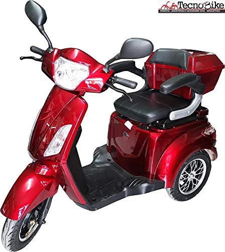 Veicolo Elettrico Scooter Disabili/Anziani Vitale Tre Ruote con Differenziale