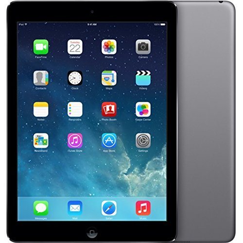 Apple iPad Air 64GB - Tableta de 64 GB, con Wi-Fi, color Gris Espacial