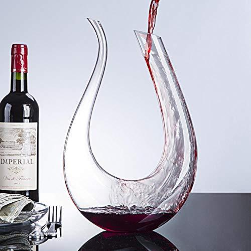 FeiKe Handmade Crystal Rotweinglas Dekanter Brandy Dekanter Set Krug Bar Champagner Wasserflasche Trinkgeschenk 1500ml Drop Shipping