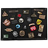 OneTigris Tactical Military Patch Holder Board (Black)