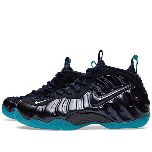 NIKE Air foamposite Pro pour Homme HI TOP Basketball Formateurs 624041 Sneakers Chaussures dark obsidian light aqua 402