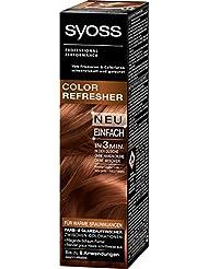 Syoss Color Refresher Haarfarbe, Warme Braunnuancen, 3er Pack (3 x 75 ml)