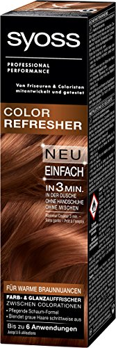 Syoss Color Refresher für warme Braunnuancen, 3er Pack (3 x 75 ml)