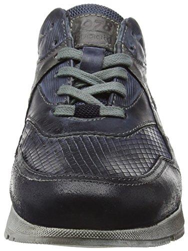 bugatti 331153011411 Herren Low-Top Blau (d.blau d.blau 4141)