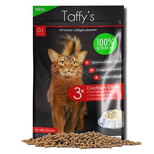 Taffy´s Katzenfutter Getreidefrei Geflügel Trockenfutter (10 kg)