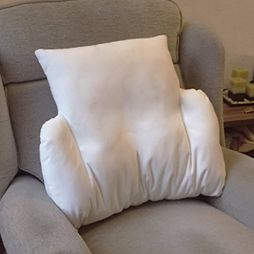 Replacement Cover for ASIN B01N9TV2HY Bedding Direct UK's Velour Fleece Lumbar Support Cushion in Cream