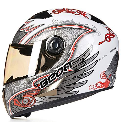 Qxmei city, casco scooter, casco scooter, casco moto, cruiser, casco integrale, certificazione ece, casco sportivo,d-xl=59-60cm