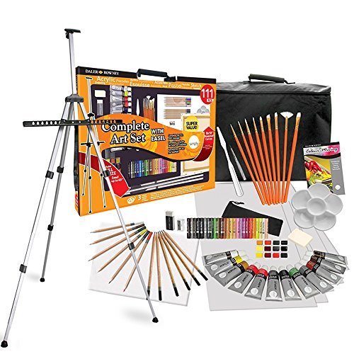 daler-rowney-complete-easel-art-paint-set-exceptional-value-111-piece-children-or-adults