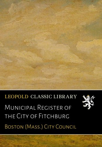 Municipal Register of the City of Fitchburg