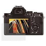 atFoliX Schutzfolie für Sony Alpha a7 & a7R & a7S (ILCE-7 / ILCE-7R / ILCE-7S) Displayschutzfolie - 3 x FX-Antireflex blendfreie Folie