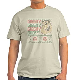 Cafepress family guy quagmire ugly christmas 100 cotton for Family guy t shirts amazon