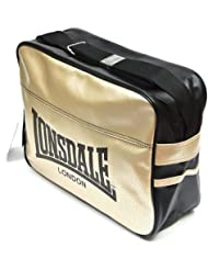 Lonsdale London Urban Shoulder Bag Color: Black / Gold by Lonsdale