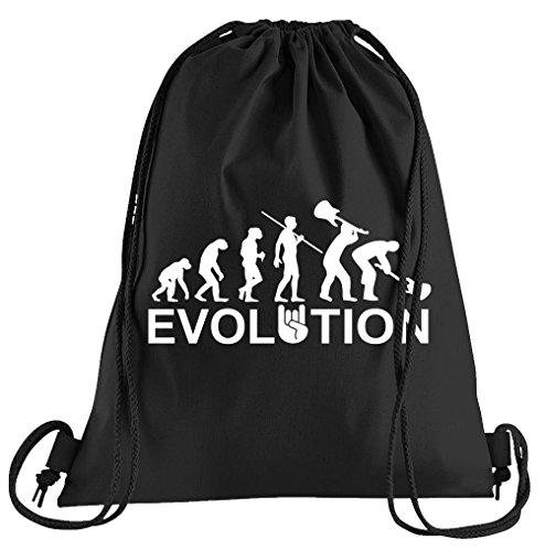 Evolution Heavy Metal Trash Sportbeutel - Bedruckter Beutel - Eine schöne Sport-Tasche Beutel mit Kordeln