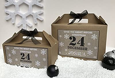 Personalised Christmas Eve Gift Box Night Before Christmas