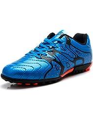 4bee5e91652f1 Tiebao Niño Difícil Suelo Artificial Velocidad PU Cuero Fútbol Zapatos
