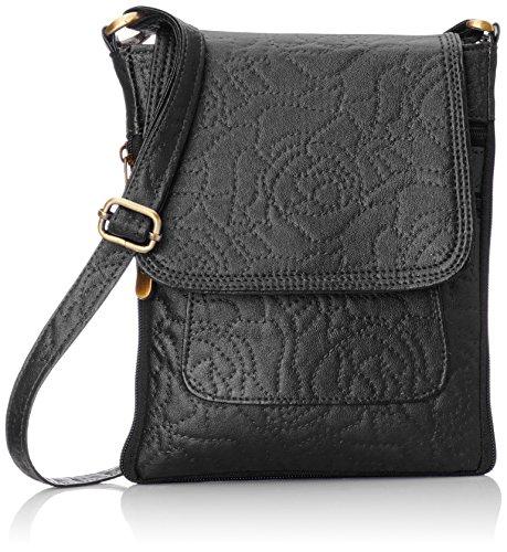 Alessia 74 Women's Sling Bag (Black) (PBG250C)