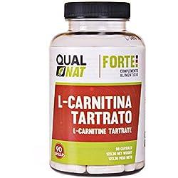 L- CARNITINA, Suplemento para la pérdida de peso, potente quemador de grasa, aminoácidos deportivos, 90 cápsulas 1000mg, quemagrasas natural, mayor resistencia, antioxodante natural,