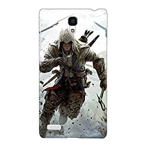 Jugaaduu Assassin's Creed Back Cover Case For Redmi Note