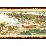 Image for board game Puzzle House Chinese Triditional Ink Painting, Tight Fit & Fine Cut Wooden Jigsaw Puzzl For Adults & Children, Basswood Boxed 500/1000/1500 Pieces Puzzles Game Toys Art For Kids 504 (Size : 1500pc)