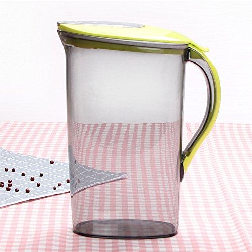 Lugii Cube d eau de 2.1 litre Pichet avec couvercle Vert Plastique ... bc38ba816604