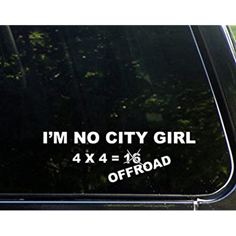 City Girl Um, No 4 = Fuoristrada 4 x 16 cm x non 22,86 (9 10,16 cm (4