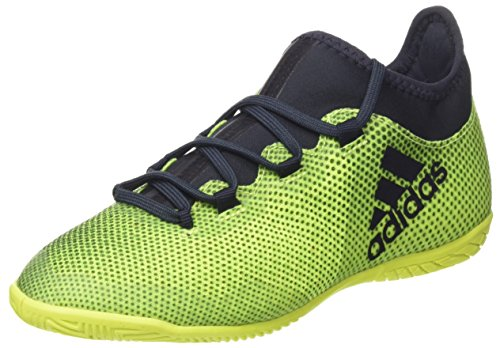 adidas Jungen X Tango 17.3 in J Fußballschuhe, Gelb (Solar Yellow/Legend Ink F17/Solar Yellow), 38 EU