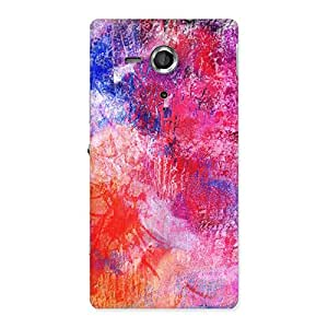 NEO WORLD Remarkable Festive Colors Back Case Cover for Sony Xperia SP