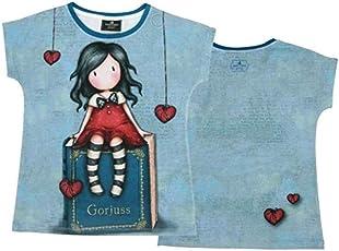 Santoro Gorjuss - Maglietta/t-Shirt (Taglia 8-10-12-14 Anni)