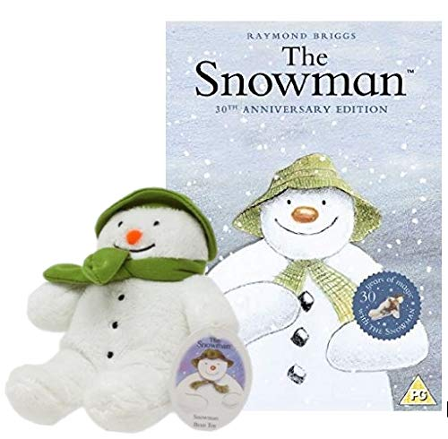 The Snowman DVD with Plush Snowman Soft Toy 15 centimeters