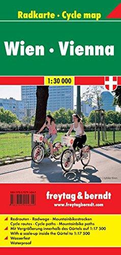 Vienna 1:30.000: Fietskaart 1:30 000 por Freytag-Berndt und Artaria KG