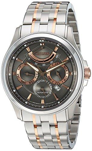 Preisvergleich Produktbild Citizen Herren Armbanduhr 'Der Signature Collection' Automatische und japanischem Edelstahl Kleid, Farbe: zweifarbig (Modell: NB5006–59H)