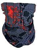 memego -  Fazzoletto da collo  - Uomo Anthrazit Rot Schwarz Taglia unica
