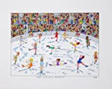 James Rizzi That Golden Moment 2D Poster Kunstdruck Farblithographie
