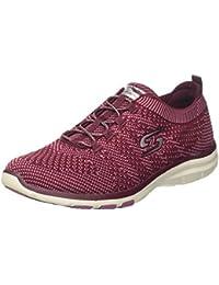 Dannto Zapatillas de Deporte de Running para Mujer Hombres Gimnasia Ligero Sneakers Zapatos?negro-C,42)