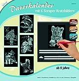 Mammut 143001 - Kratzbild silber - Dauerkalender Tiere