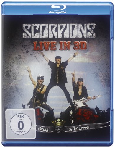 Scorpions: Live In 3D - Get Your Sting & Blackout [Blu-ray]