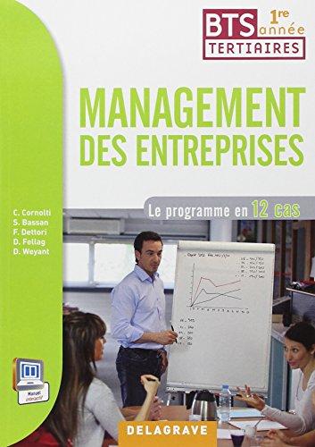 Management des entreprises 1e année BTS par Delagrave