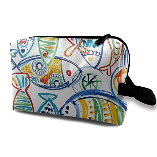 Solarium Outdoor Cast Seaside Portable Travel Makeup Cosmetic Bags Organizer Multifunction Case Toiletry Bags -