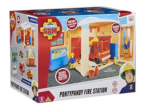 Fireman sam 06849 pontypandy fire station playset