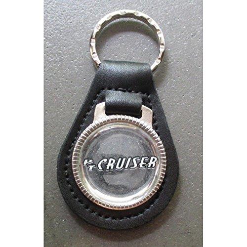 Unbekannt–Tür Schlüssel Metall Leder PT Cruiser Grau Chrysler Auto USA (Pt Cruiser Schlüssel)