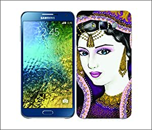 Galaxy Printed 1672 ETHNIC LINE ART Nava Hard Cover for Samsung Core Prime