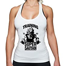 THE LION Goku Super Saiyan Golds Goku Gym Camiseta Sin Mangas Para Mujer Dragon Master Son Ball Turtle Roshi Db