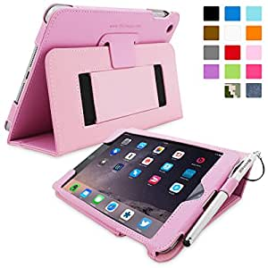TheSnugg B00A23FWOY - tablet cases (Folio, Pink, PU leather, Apple, iPad mini, Dust resistant, Scratch resistant)