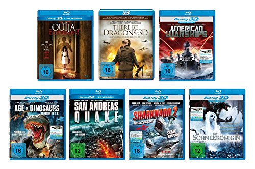 Nice Price Edition: 10er 3D Blu-ray Filme Paket (10 Filme in 2D + 3D)
