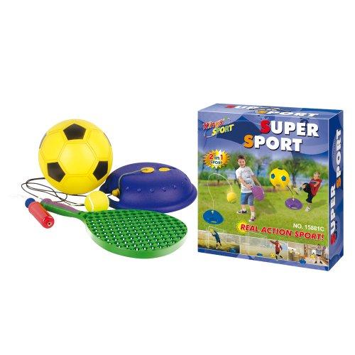 gueydon-giocattoli-801-835-giochi-allaperto-set-2-in-1-piede-1-tennis