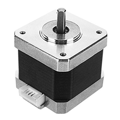MASUNN Motor de pasos de JGAURORA ® 42 para la longitud 1.2 a/phase del eje de la impresora 3D 15m m