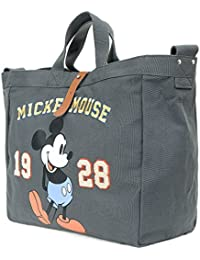 ililily Disney Vintage Mickey Mouse Multi-purpose Cross Body Shoulder Tote Bag