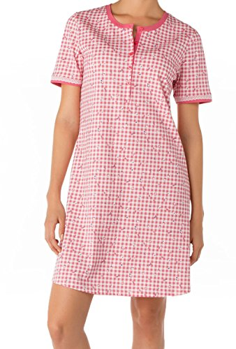 CALIDA Big Shirt Cuba - Chemise de nuit - Femme Tea Rose