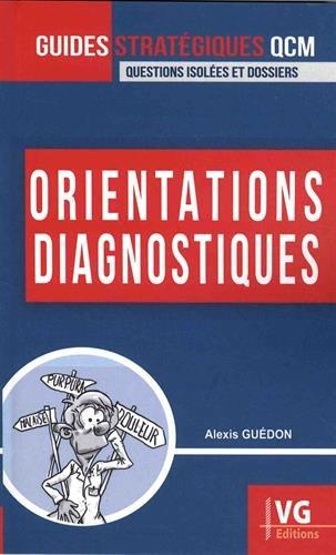 Orientations diagnostiques