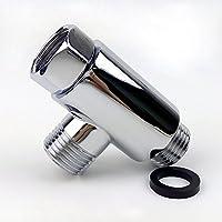 mingor in ottone massiccio forma rotonda a 3vie deviatore tutti 1/2IPS sistema doccia di ricambio, cromo lucido